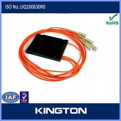 1*4 Rack Mounted Fiber Optic PLC Splitter with sc connector
