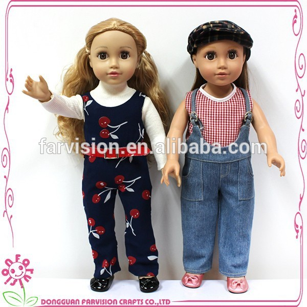 Beautful sisters vinyl doll twins baby sisters 18 inch doll