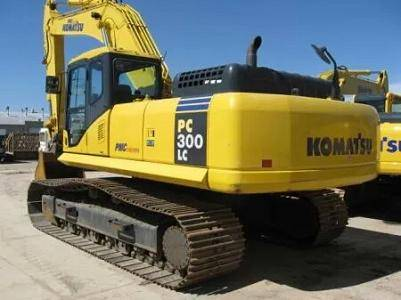 Used Komatsu PC300-7 Tracked Excavator