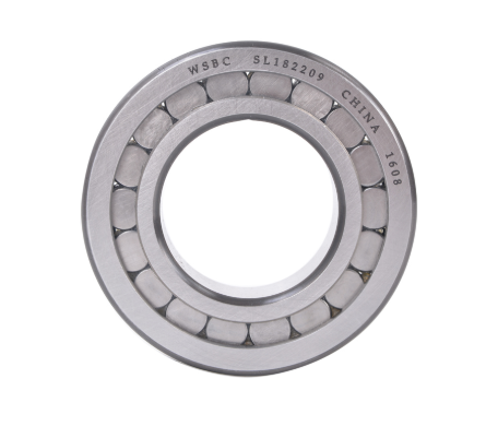 High load operation roller bearings