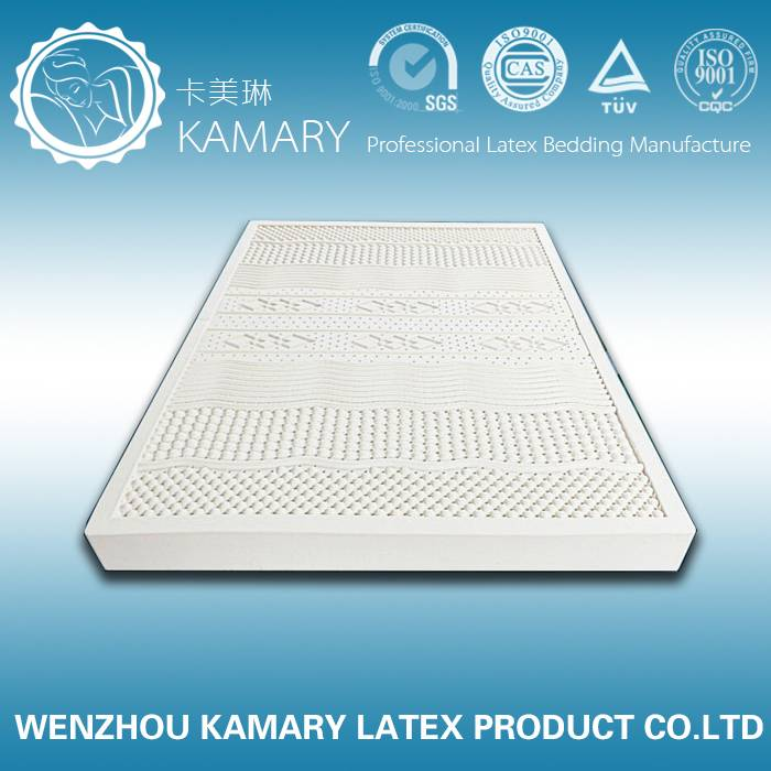 Natural 7 zone latex mattress