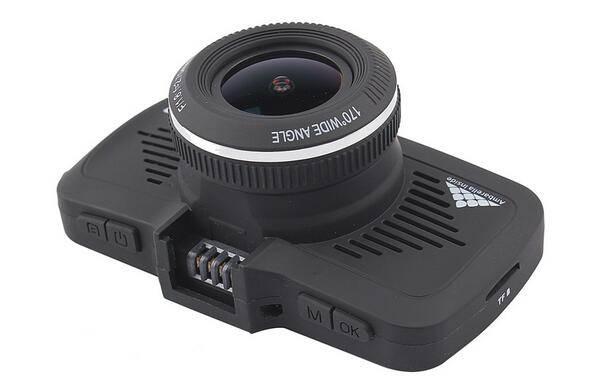 Full HD 1296P Ambarella A7LA50 Radar Detector GPS Car DVR