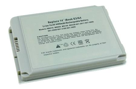 """BATTERY FOR APPLE iBook - 14"""" LCD"""
