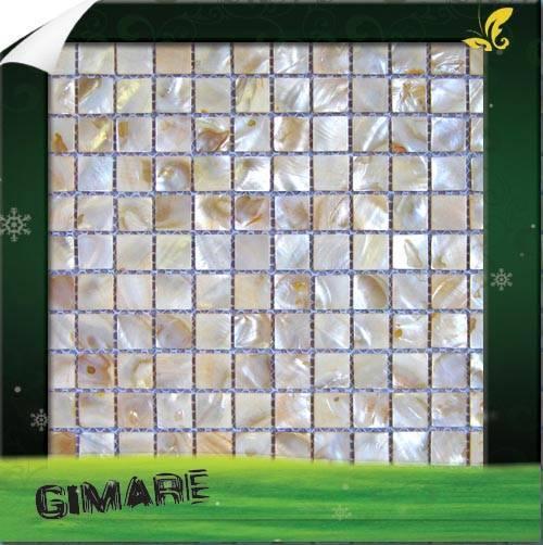 mesh backing shell mosaic