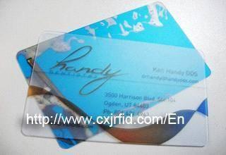 Alien H3 RFID Card