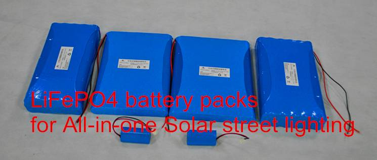 OCELL Lithium Deep Cycle battery 12V LiFePO4 Battery Pack for Solar energy