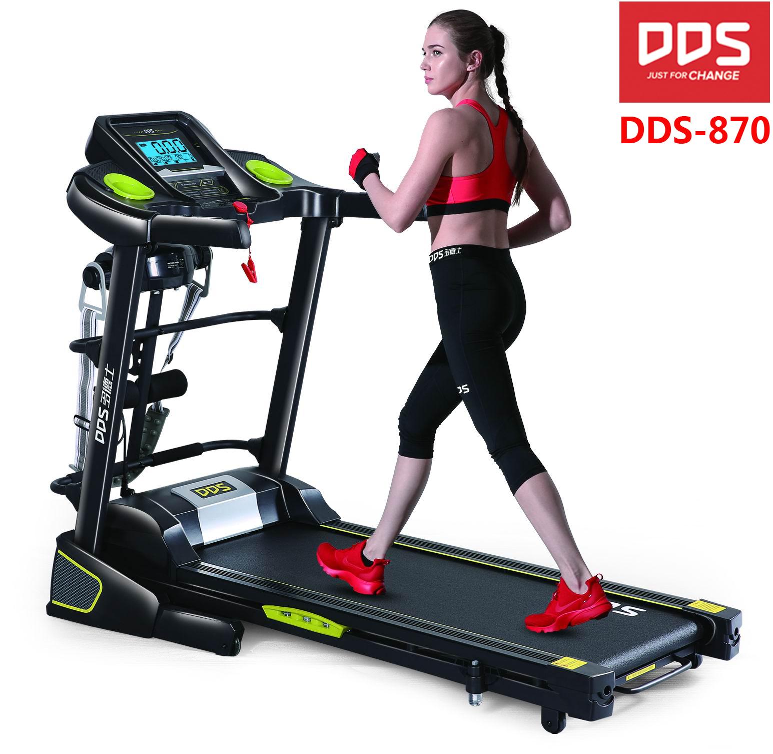 DDS 870 fitness equipment treadmill, walking treadmill, running treadmill, gym equipment