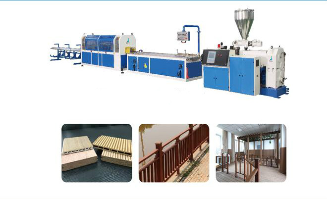 PVC WPC Wall Profile Extrusion Line/Production Line