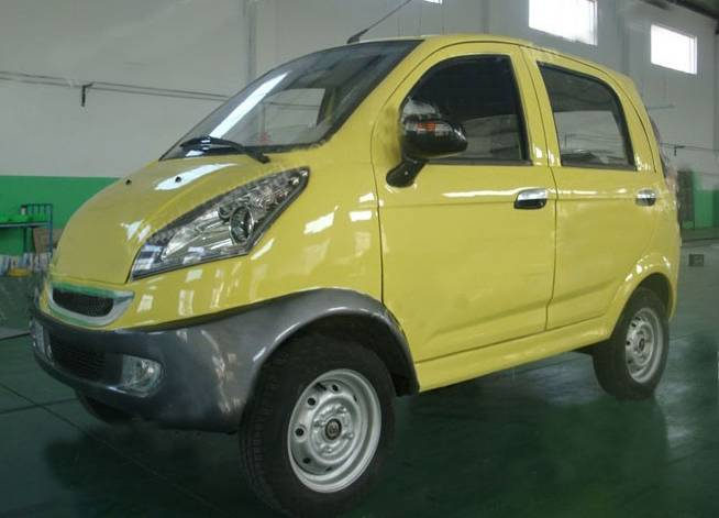 Four wheel electric car ECF-01