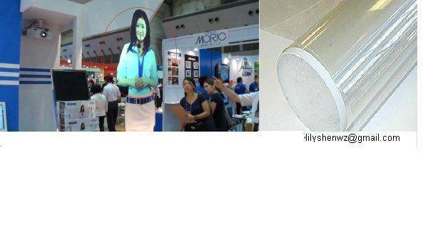 adhesive optical rear projection screen film(for glass display)