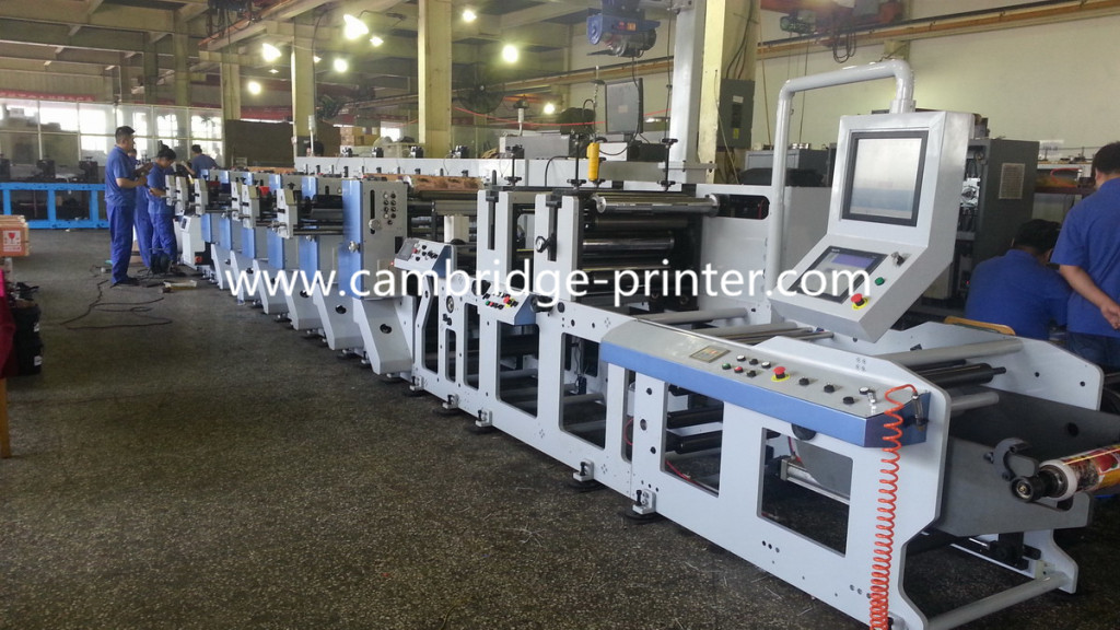 New Structure of Inline Flexo Printing Machine