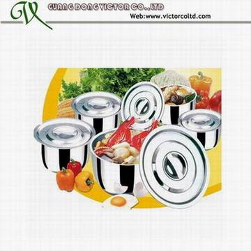 10 PCS stock pot set