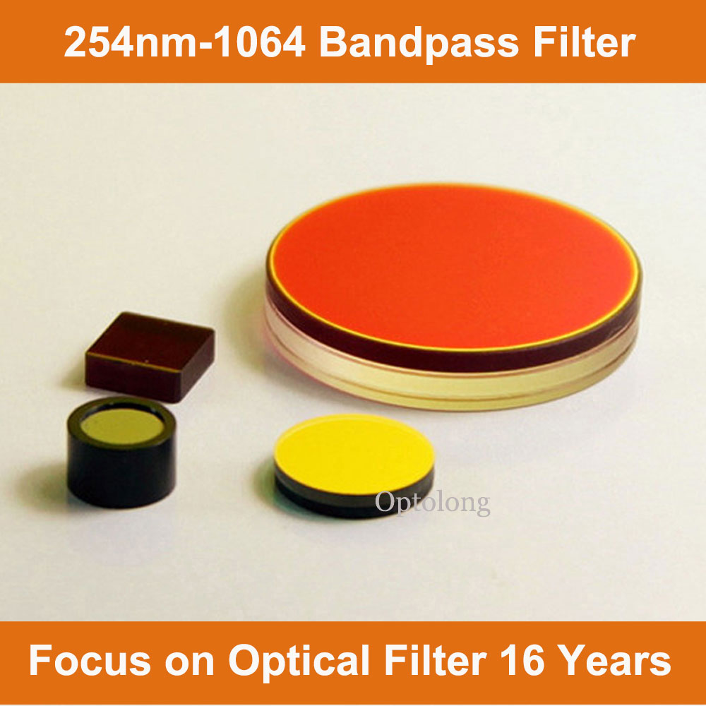 BP 340nm FWHM=70nm Ir-Cut optical Bandpass Filter