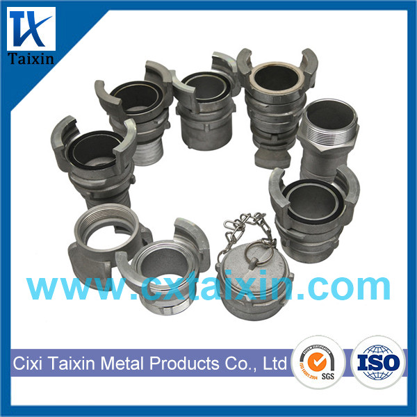 Aluminum Guillemin Coupling Hose Tail With Latch / Lock