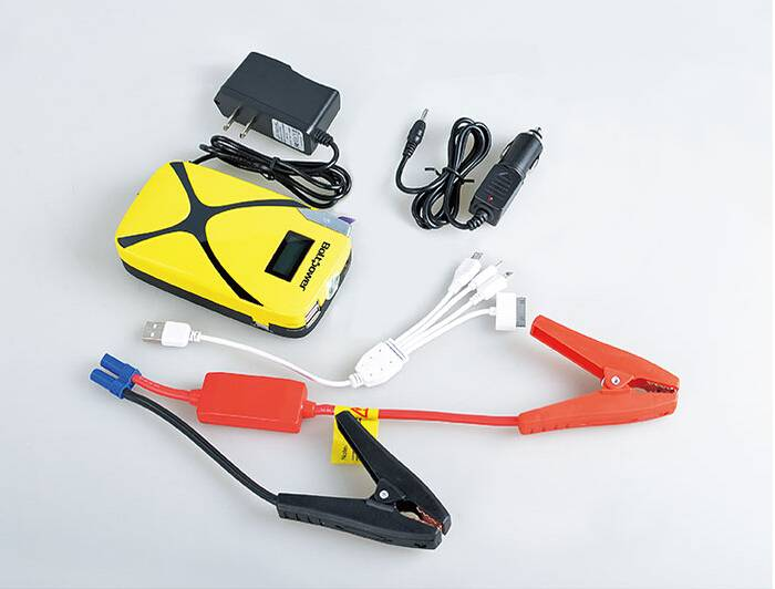 car jump starter peak current 400A emergency power bank 12V