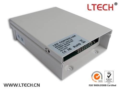 hot sale rainproof LED high Power Amplifier C V and led driver 8A/CHx3 DC5V-24V