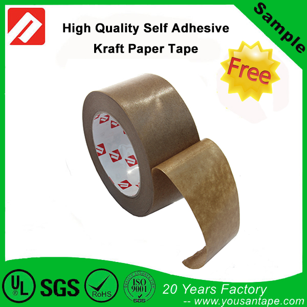 High Quality Custom Printed Self Adhesive Kraft Paper Gummed Tape