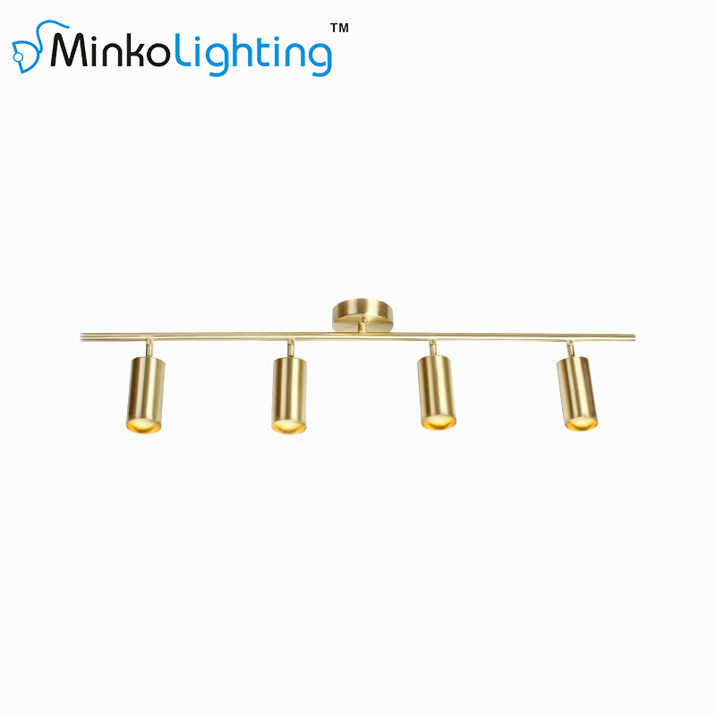 Gold Kitchen Track Lighting Fixtures - Minko Lighting CO ...