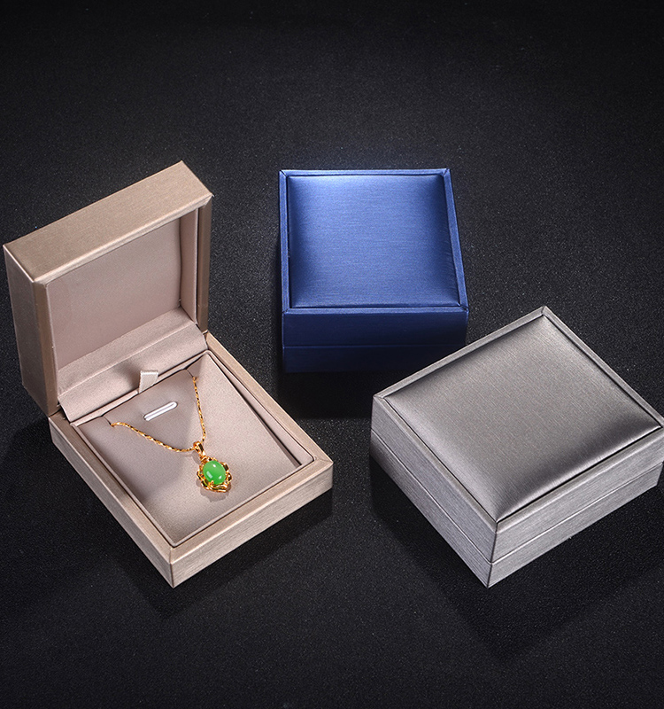 Quality Choice Fashion Custom Jewelry Plastic Ring Box