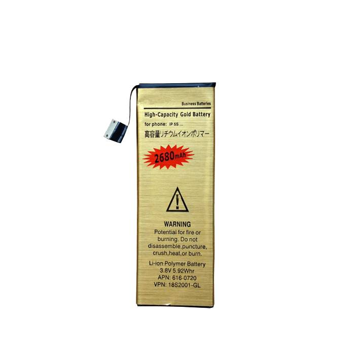 Good Quality Replacement Mobile Phone Battery for iPhone 5/5S Cell Phone Battery