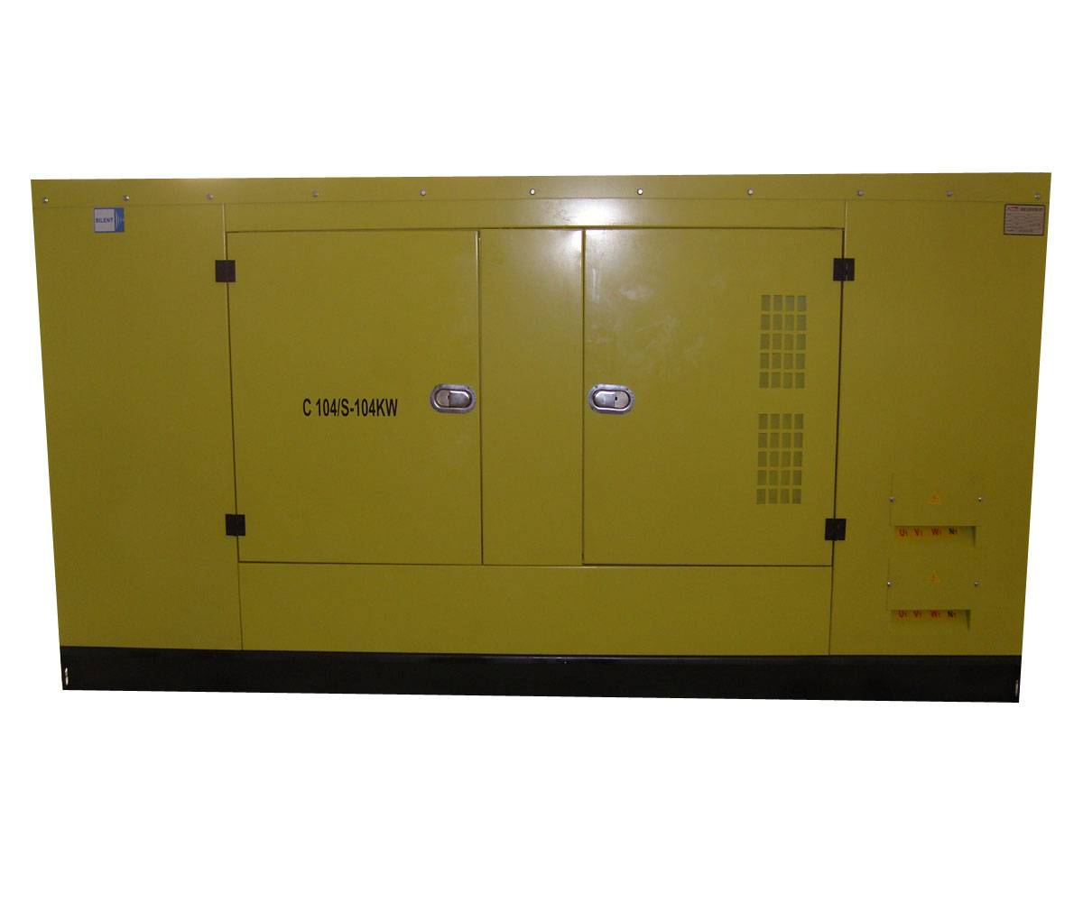 Cummins range 100KW silent Generator sets with ATS
