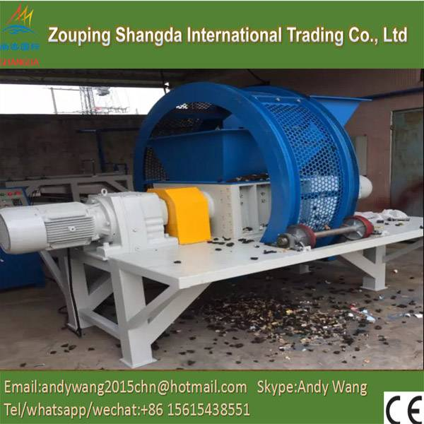 Automatic Waste Tyre/Tire Lump Cutting Machines
