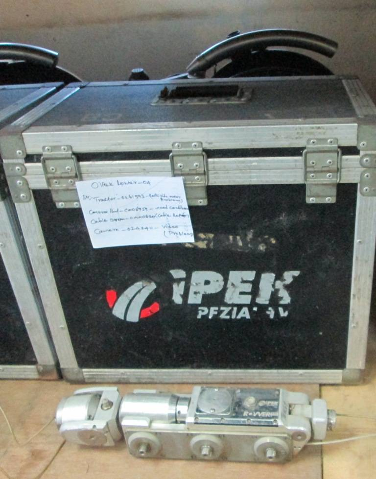 Used CCTV Inspection Unit