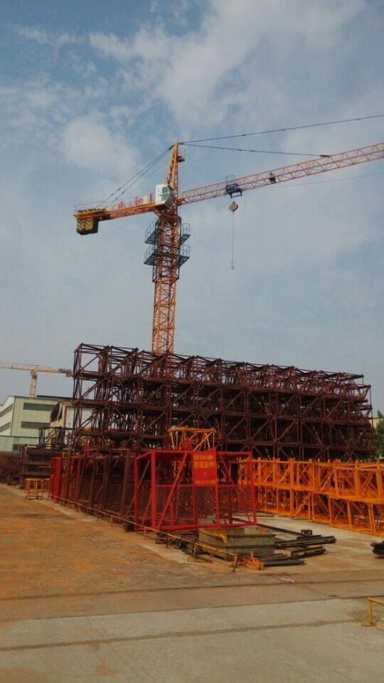 QTZ construction tower crane made in china