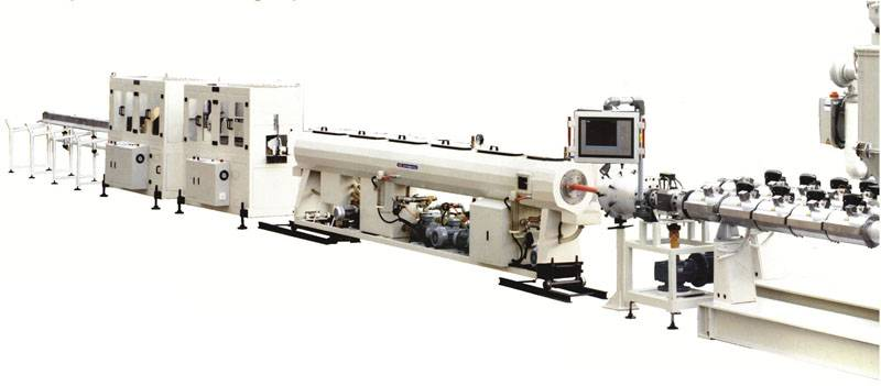 PP Super Silent Water Drainage Pipe Extrusion Line
