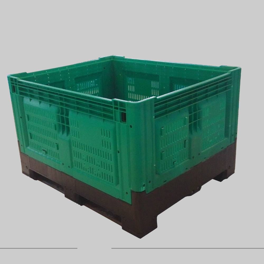 collapsible pallet container