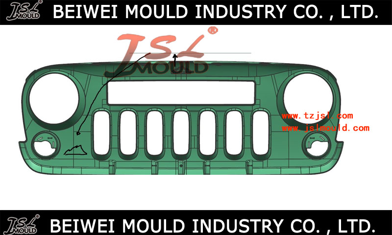 top quality car front grill mould