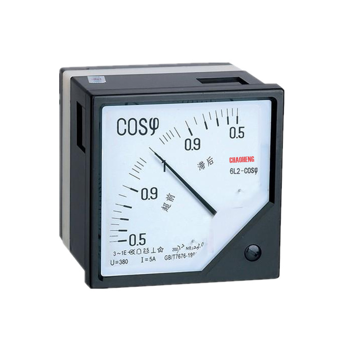 Squre Power Factor Meter