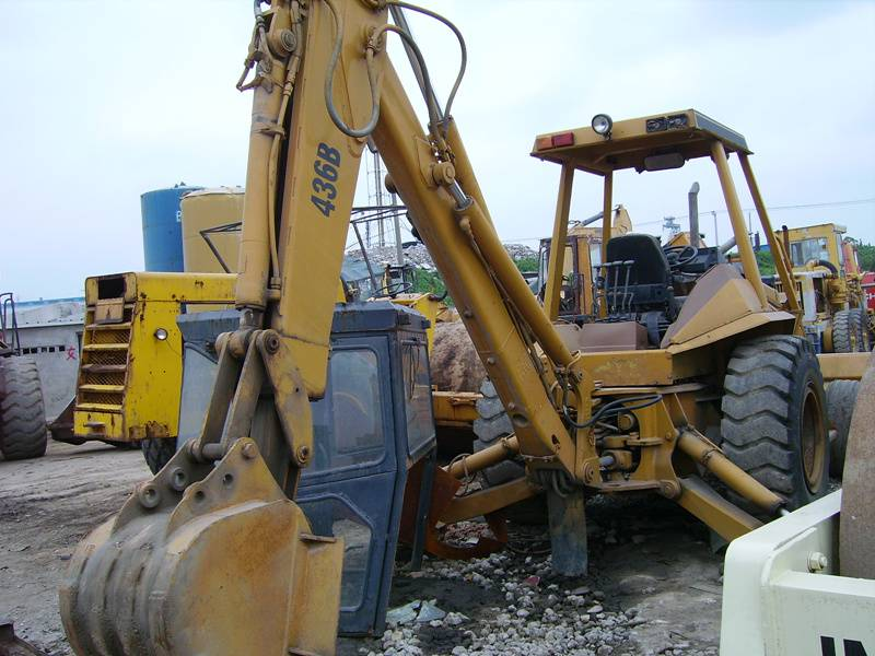 Used Caterpillar 436B Backhoe Loader