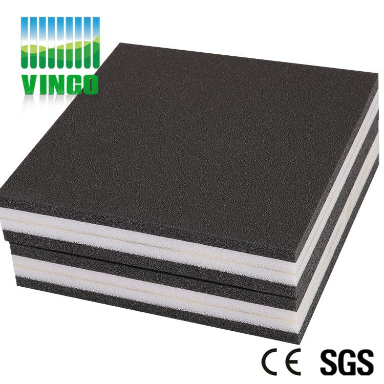 The composite damping pad for home theater,gym etc