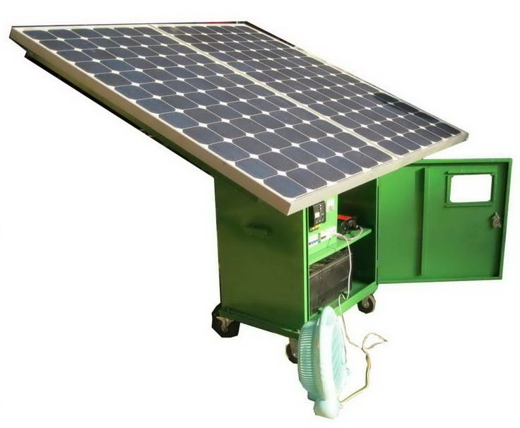 Sell Movable Solar Generator,Emergency Power Station(FD1000-1)