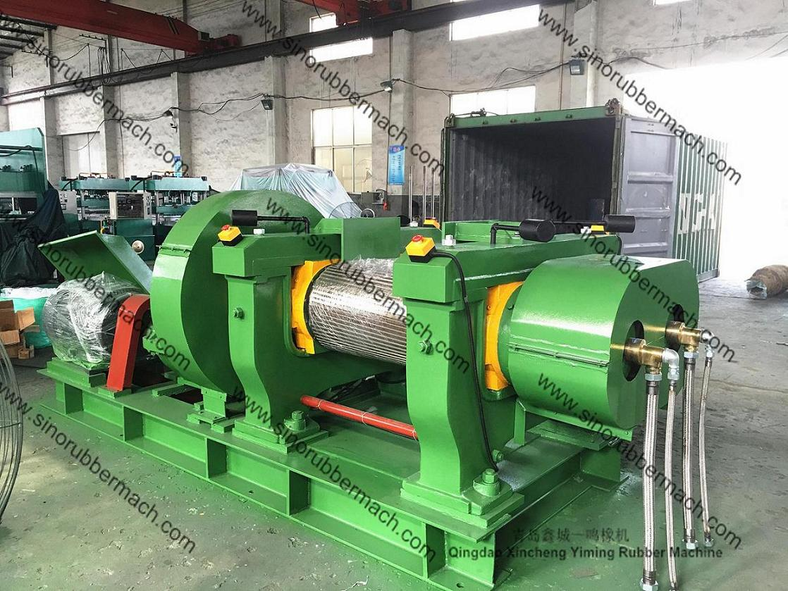 Double Groove Roller Rubber Crushing Mill,Rubber Crusher