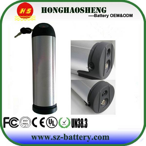 24v electric bike high power 18650 10ah li ion battery pack with pcm