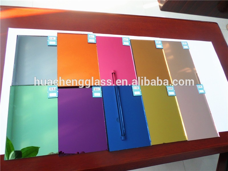 2-8mm Aluminum Color Mirror From Shahe City in Hebei Province