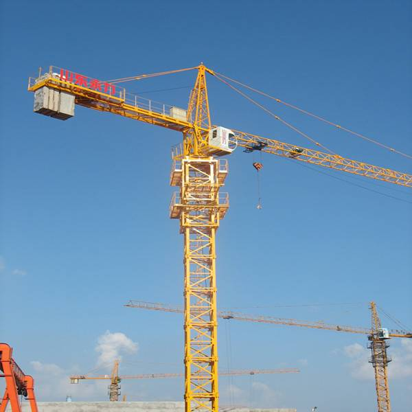 High quality QTZ63 5ton tower crane