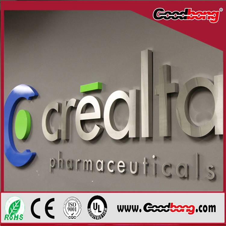 Outdoor Strong Huge Size Advertising Solid Face Lighting Letter Names