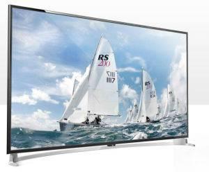 "65"" Widescreen LED TV with Original Brand Screen"