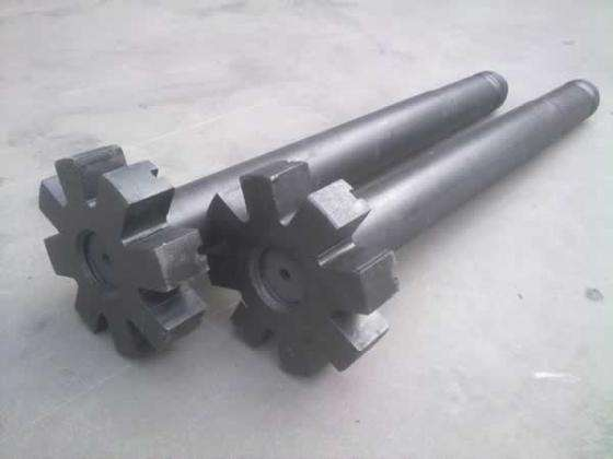 Isostatic Pressing Fine Particles High Purity Graphite Rotor Mould