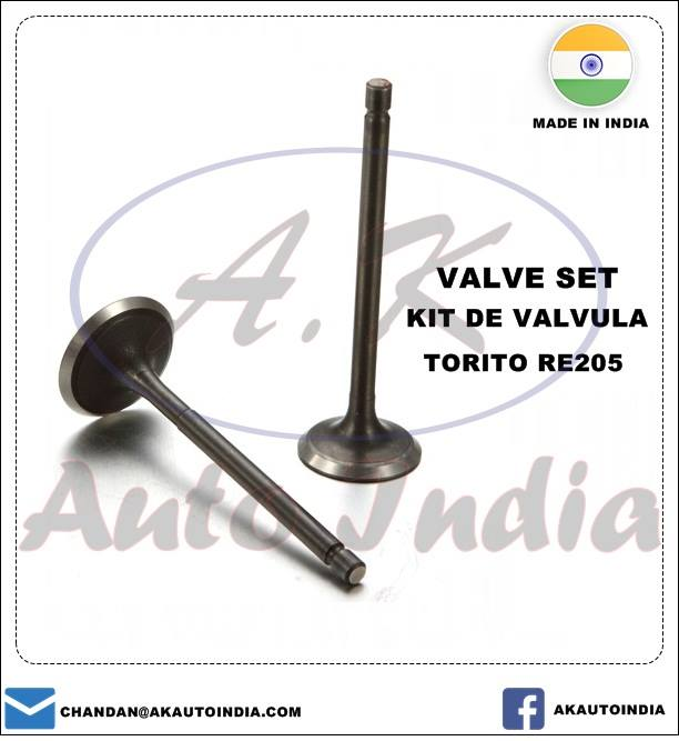 VALVE SET BAJAJ THREE WHEELER