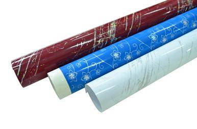 High gloss metalic/laser PVC film for furniture / construction decorative lamination