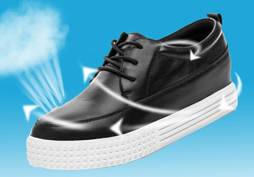 designer shoes leather ventilation casual shoes lady fashion student han edition shoes 801-1