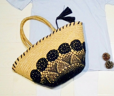 fashion picnic bag woman,straw,beach bags