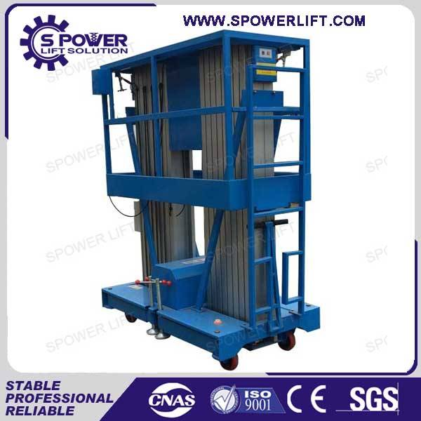 outdoor indoor used 10M 10M aluminum lift