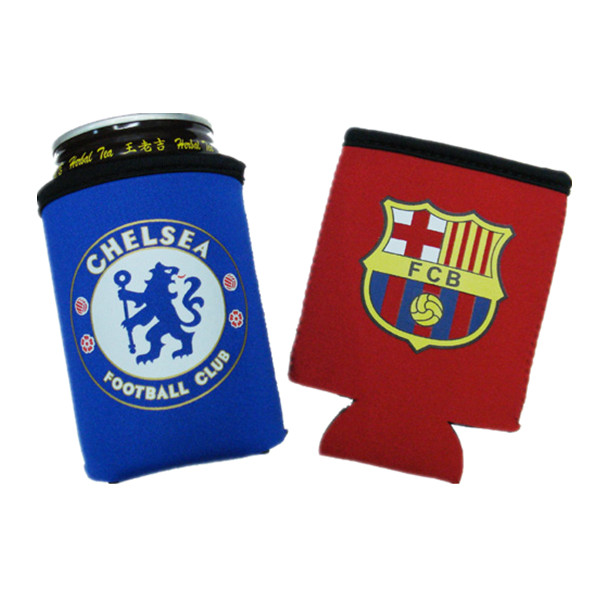 Christmas Gift Neoprene Foldable Can Koozie
