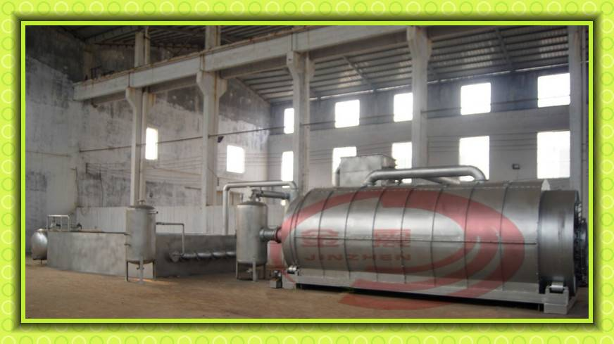 new patented continuous tyre pyrolysis plant with capacity 5-15ton per day
