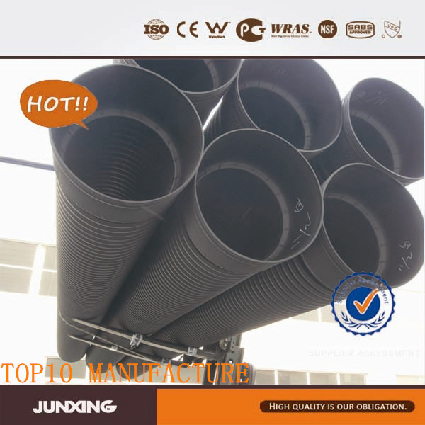 HDPE pipe for water and waste water applications